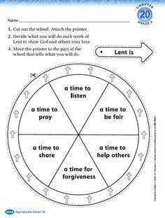 Resources for Lent - includes downloadable handouts #catholic #lent