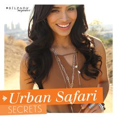 3 Urban Safari style secrets are on the #Silpada blog! | #WomensFashion #boho