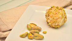 Indian Coconut And Pistachio Ladoos (Laddu)
