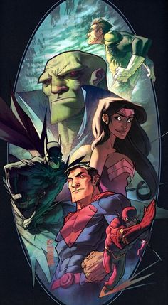 Justice League By Monk