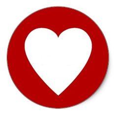 red_heart_border_sticker
