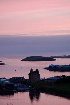 Midsummernight in Shetland - Scalloway