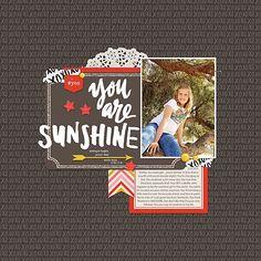 You Are Sunshine by kimberly.kalil @2peasinabucket