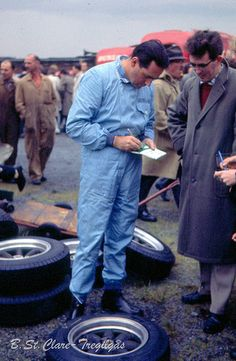 Jack Brabham, 1961 British Grand Prix, Aintree, Liverpool