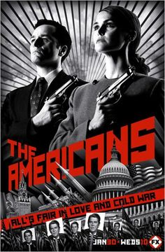 THE AMERICANS SEASON 1.  Secrets can be deadly in this suspenseful thriller about undercover Russian spies during the cold war 1980s in idyllic suburban Washington D.C.  http://highlandpark.bibliocommons.com/search?t=smart&search_category=keyword&q=AMERICANS+KERI+RUSSELL&commit=Search