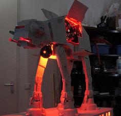 AT-AT PC Case Mod By Asphiax. Who needs mobile and portable when you can have this.