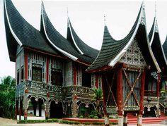 Rumah Gadang, Padang.