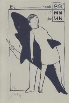 Ex-Libris Wolfgang Wissing by Anya Triestram