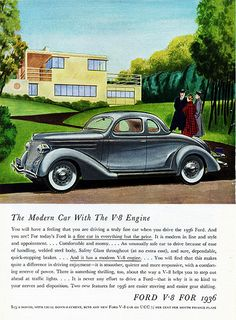 1936 Ford V-8 De Luxe Coupe (Five Windows)