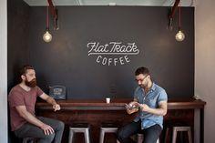 Flattrack Coffee on Cesar Chavez