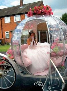 cinderella carriag, idea, dreams, wedding day, weddings, horse carriage, princesses, marri, fairytal