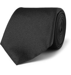 GUCCI - Black Silk Tie - Always A Classic -ShazB