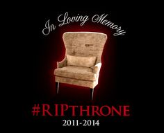 RIP: Queen Victoria's Throne