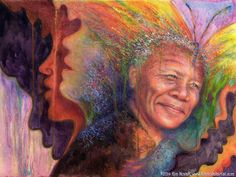 Transformation, Nelson Mandela (pastel, 18×24) by Kim Novak. Read about the Butler Institute of American Art here. ~ch #art #pastel #painting