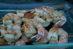 Paleo Table - Marinated Shrimp Kabobs