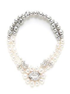 Reception Choker Necklace by Swarovski Jewelry on Gilt.com