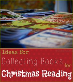 Ideas for Collecting Books for Starting a Christmas Reading Family Tradition StuffedSuitcase.com