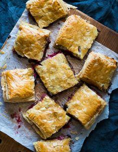 Chocolate, Berry & Cream Cheese Danish on WhiteOnRiceCouple.com