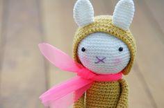 Crochet rabbit - Tournicote... à cloche-pied