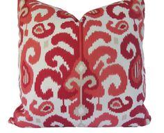 Decorative Designer Duralee Ikat Pillow Cover by MakingFabulous, $42.00