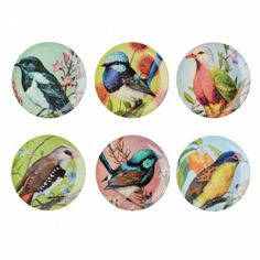 Assiette Birds Rice