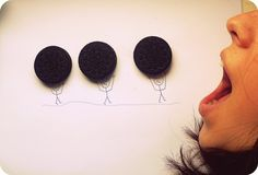 We get by with a little help from our friends, too :) #oreomoment
