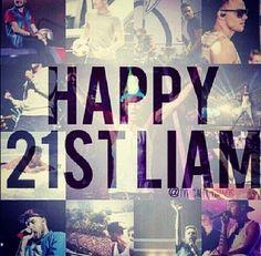 Happy (late) Birthday, Liam!!
