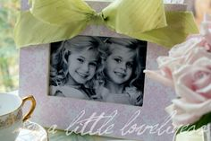 A Little Loveliness: Pretty as a Picture Frame