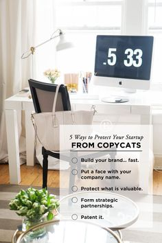 5 Ways to Protect Your Startup from Copycats #theeverygirl