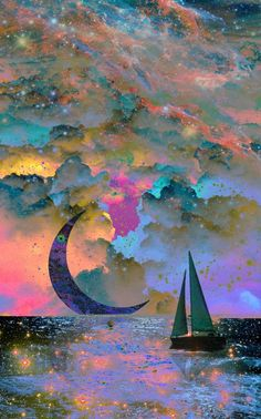 Moon magic Love these colors