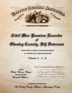 Tools: Uncover Your Ancestors' Past with Civil War Pension Records #genealogy