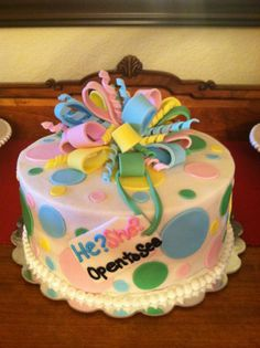 Cakes by Rosalyn: Gender Reveal Cake