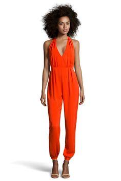 This jumpsuit.  That color.  Hawt.