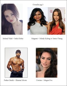 My cast choices for Crossfire series (page 3)