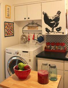 :: Cutest  APARTMENT KITCHEN EVER! ::   COZY LITTLE HOUSE: Apartment Kitchen Reveal