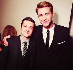 josh hutcherson and liam hemsworth