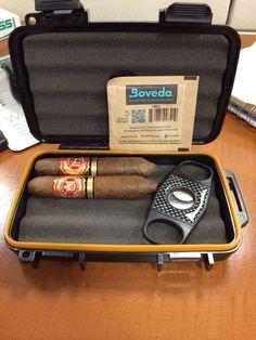 Travel Humidor always safe and #fresh with #Boveda #ciagarsnob #cigarguy #cigarsToGo #travelHumidor @Boveda Inc.