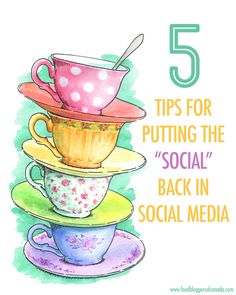 """5 Tips For Putting the """"Social"""" Back in Social Media 
