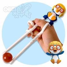 pororo training chopsticks