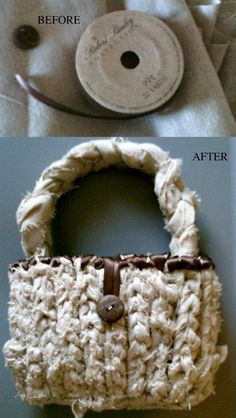 Be cool! Try out this Hip Little Scrap Fabric Crocheted Purse tutorial from EK Success & #Walmart.