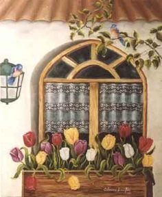 Pintura naif de Silvana Langlois