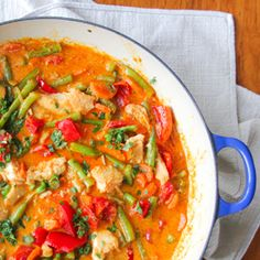 Thai Curry with Tilapia and Veggies