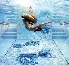 Fancy - Glass Mosaic Tiles for Pools by Sicis