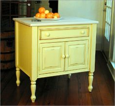 photos dresser butcher block top | 3745 Kitchen Island with Maple Butcher Block Top