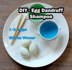 [DIY] Egg Dandruff Shampoo Remedy