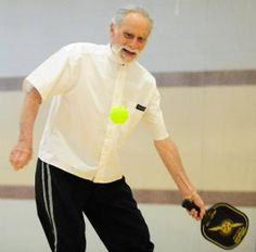 Pickleball has become a favorite sport for active seniors. Who says exercise can't be fun?