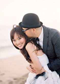 tips for great engagement photos by caroline tran