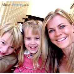 Alison Sweeney with her kids!