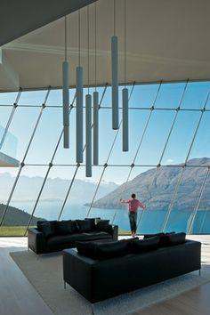 House on Lake Wakatipu.
