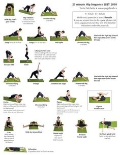 Stretch your hips
